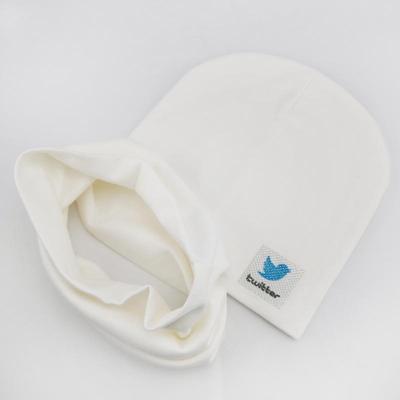 вд1621-32 Комплект трикотажный двойной шапка/снуд TWTR молочный