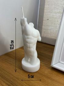 Силиконовая форма Торс мужской 2, 12,5 см
