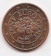 5 евроцентов Австрия 2002