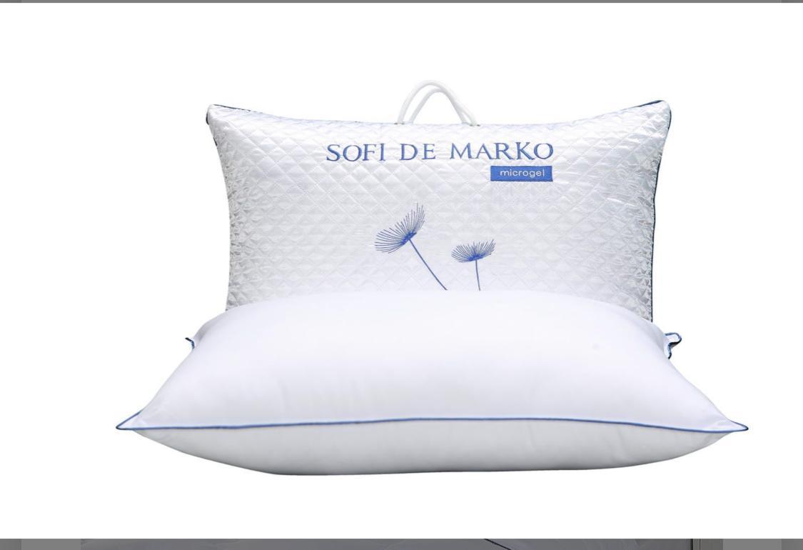 Купить подушку Микрогель 100%