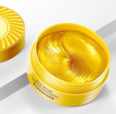 Гидрогелевые патчи с частицами золота от «BIOAQUA».(45015)