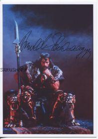 Автограф: Арнольд Шварценеггер. Конан-варвар.