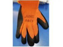 Перчатки ТОРРО-ЛЕТО с текстурированным латекс. покрытием.