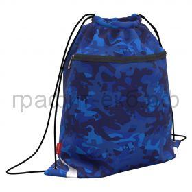 Сумка для обуви ErichKrause Sea Camo с карманом на молнии 500х410мм 52132