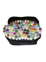 Фломастеры маркеры двусторонние для скетчинга Touch Cool 80 цветов купить доставка