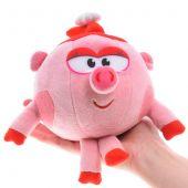 Озвученная мягкая игрушка - Нюша из мультфильма «Смешарики», 10 см