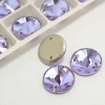 DeLuxe Пришивные Стразы Violet Риволи 12 мм