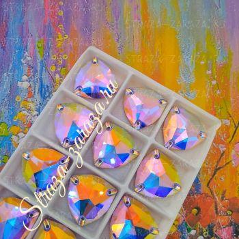 DeLuxe Пришивные Стразы Violet_AB Триллиант 22 мм