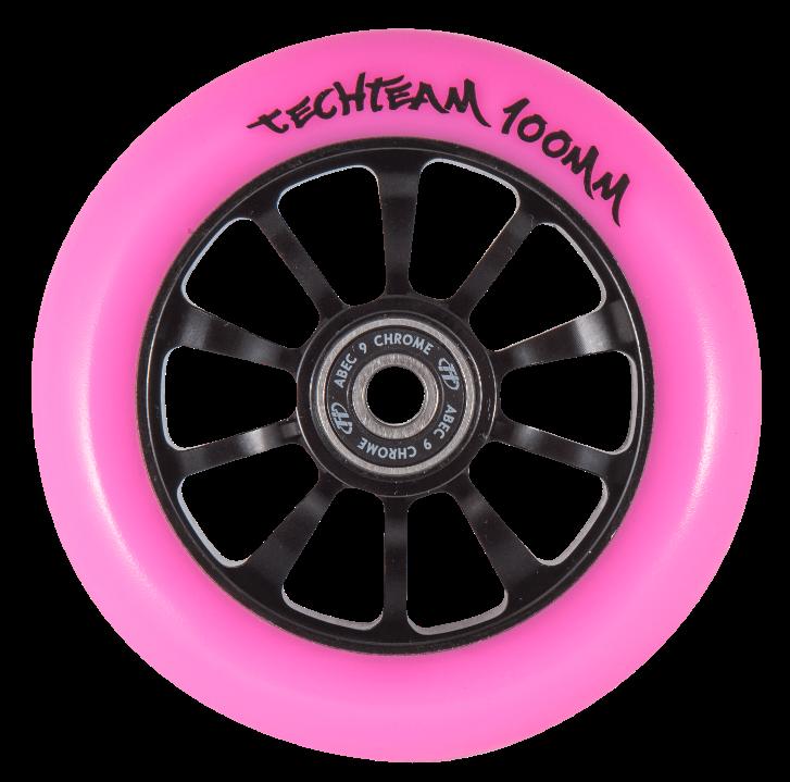 Колесо для самоката 100мм Winner, pink