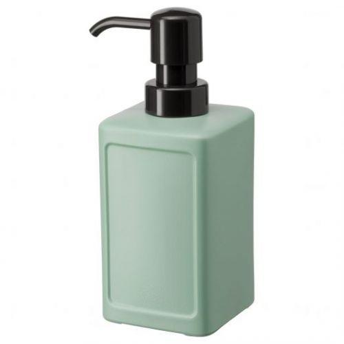 RINNIG РИННИГ, Дозатор для жидкого мыла, зеленый, 450 мл - 704.288.81