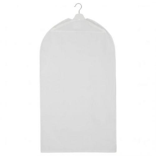 HODDA ХОДДА, Чехол для одежды, прозрачный белый, 60x105 см - 405.031.79
