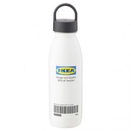 EFTERTRADA ЭФТЕРТРЭДА, Бутылка для воды, белый - 804.988.16