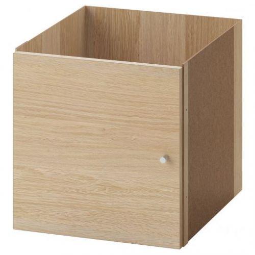 KALLAX КАЛЛАКС, Вставка с дверцей, под беленый дуб, 33x33 см - 503.795.51