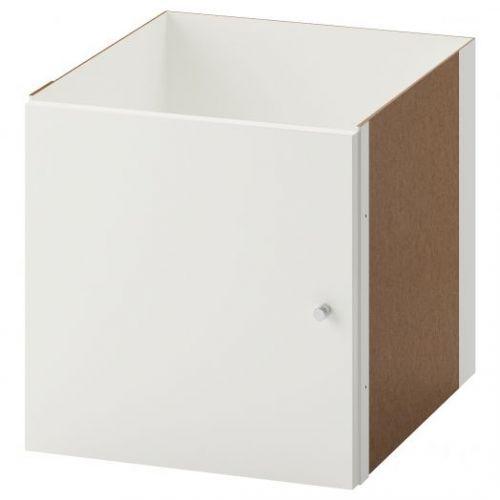 KALLAX КАЛЛАКС, Вставка с дверцей, глянцевый белый, 33x33 см - 903.795.49