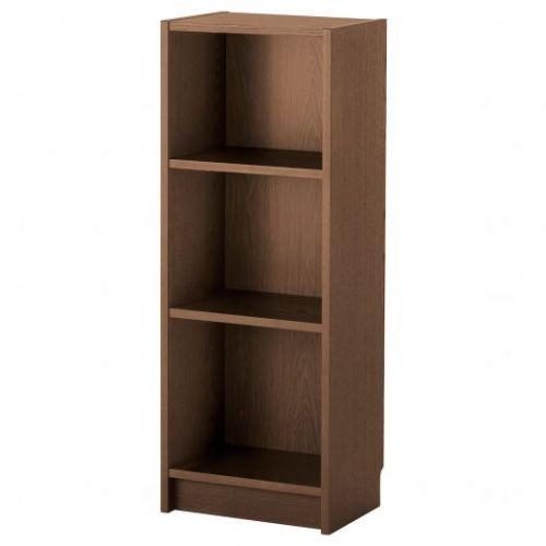 BILLY БИЛЛИ, Стеллаж, коричневый ясеневый шпон, 40x28x106 см - 703.842.12