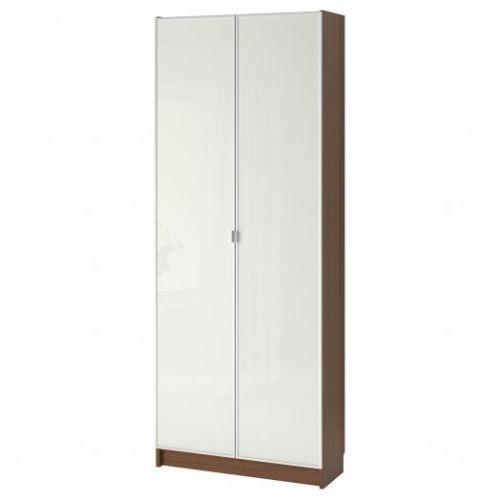 BILLY БИЛЛИ / MORLIDEN МОРЛИДЕН, Стеллаж, коричневый ясеневый шпон, 80x30x202 см - 792.435.57