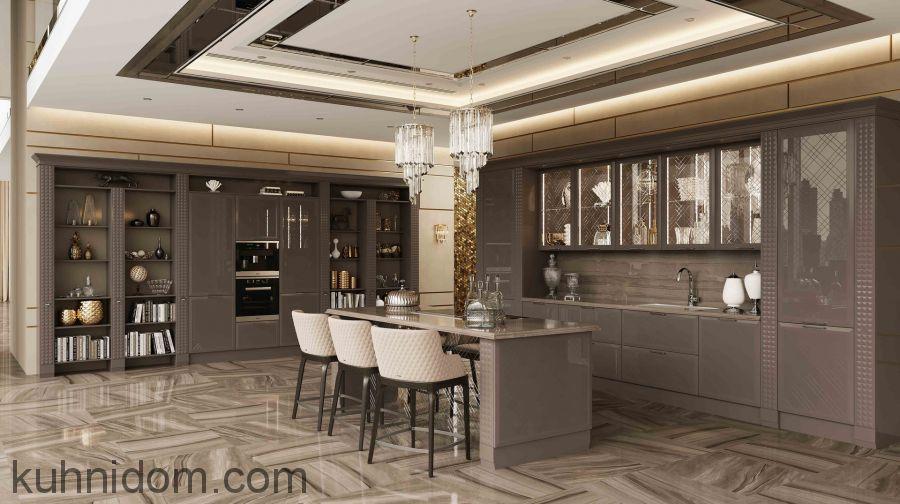 Кухня Lange (Ланже) коричневый