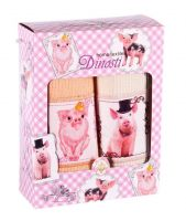 Подарочный набор вафельных полотенец (2шт) №0-77