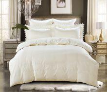Комплект постельного белья  Сатин с вышивкой  NELI евро   Арт.5127/1