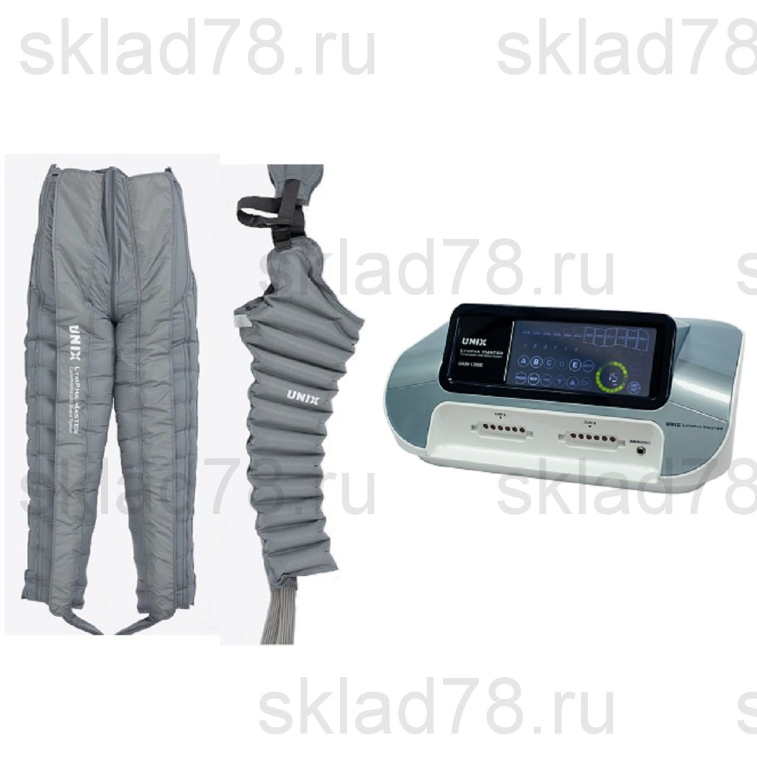 UNIX LYMPHA MASTER комплект «Аппарат + Комбинезон + Рукав» 12 камер