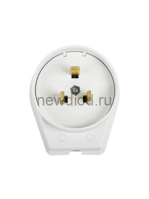 Вилка  ВШ для электрической плиты  40А 250В 2Р+РЕ Rexant