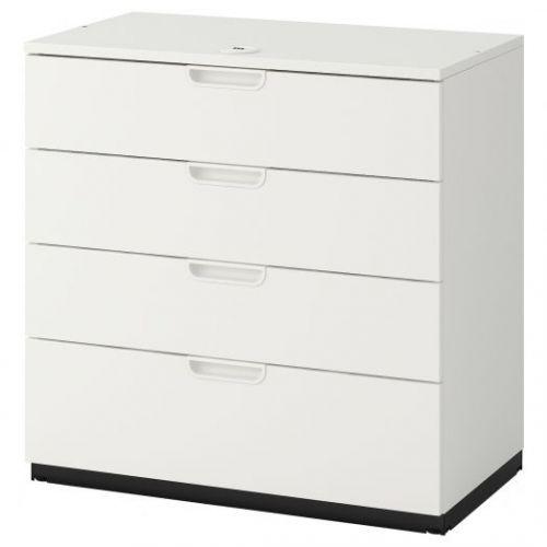 GALANT ГАЛАНТ, Тумба с ящиками, белый, 80x80 см - 903.651.75