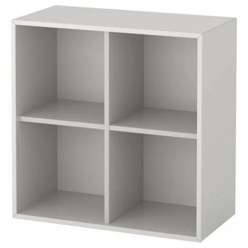 EKET ЭКЕТ, Шкаф с 4 отделениями, светло-серый, 70x35x70 см - 303.593.56