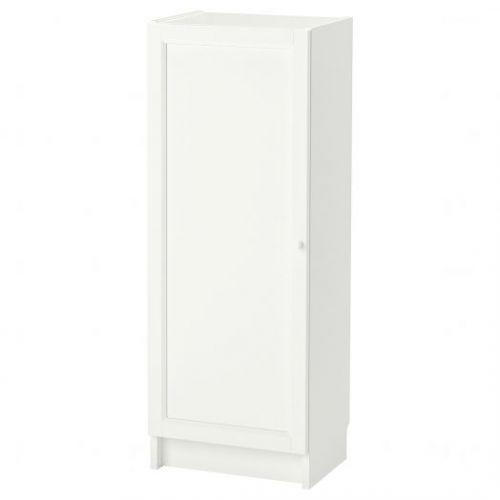 BILLY БИЛЛИ / OXBERG ОКСБЕРГ, Стеллаж с дверью, белый, 40x30x106 см - 292.873.94