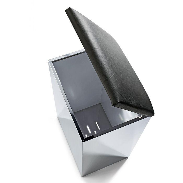 Корзина для белья с крышкой сиденьем Decor Walther Case HK  06118 ФОТО