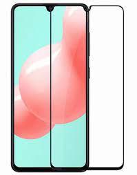 Защитное стекло на Samsung A41 с рамкой