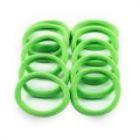 Бесшовная резинка для волос зеленая