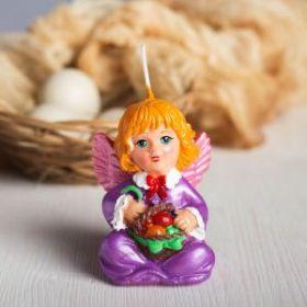 Форма силиконовая для мыла и свечей Ангел