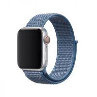 Ремешок нейлоновый для Apple Watch 42/44mm голубой