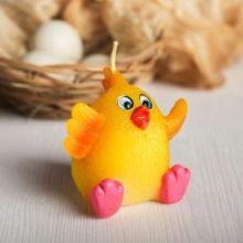 Форма силиконовая для мыла и свечей Веселый цыпленок