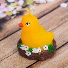 Форма силиконовая для мыла и свечей «Цыплёнок в гнезде»