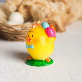 Форма силиконовая для мыла и свечей «Цыплёнок с яйцами»