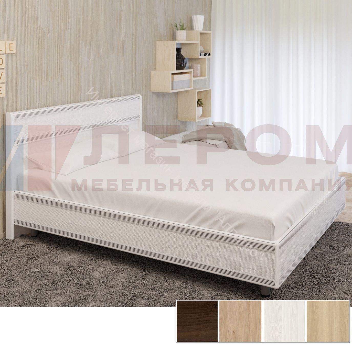 Кровать КР-2002 (1,4*2,0) Карина с жестким изголовьем