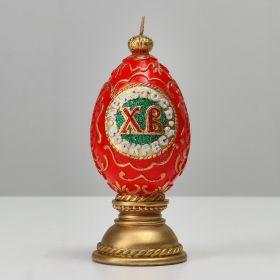 """Форма силиконовая для свечей """"Яйцо ХВ"""", 6,5х15 см"""