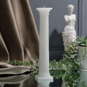 Форма силиконовая для свечей «Колонна большая», 21 см