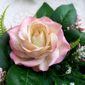 """Силиконовая форма """"Роза Валерия"""" диаметр 7 см высота 5,5 см вес в мыле 60 грамм"""
