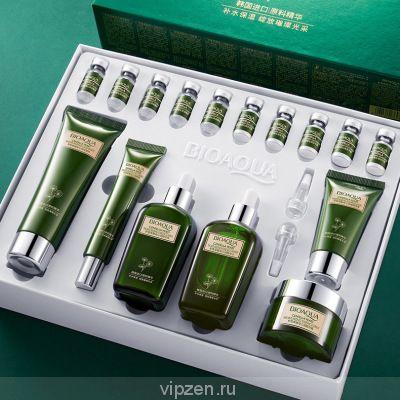 Poquan ya asiaca дрожжи qinrun лиофилизированный порошок комплект картридж увлажняющий увлажняющий освежающий контроль масла по уходу за кожей набор