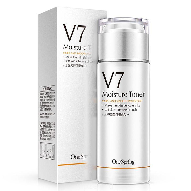 Один весенний V7 легкий увлажняющий тонер увлажняющий увлажняющий лосьон для омоложения кожи