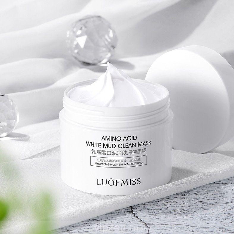 Lofan amino acid White Mud очищающая маска для кожи укрепляющая кожа улучшенная тусклая увлажняющая маска