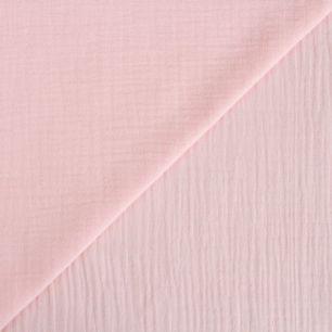 Хлопок - Муслин однотонный нежно-розовый  50x45
