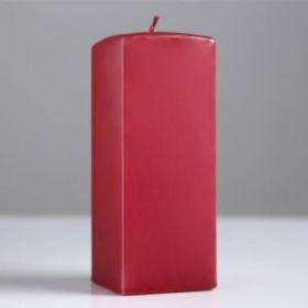 Силиконовая форма для свечи квадратная призма, 6х15 см