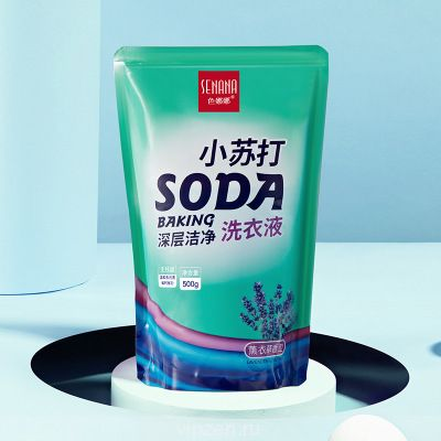 Цвет Nana пищевая сода глубоко очищает стиральный порошок 1 фунт для удаления пятен жирный уход за одеждой очистить один кусок для волос