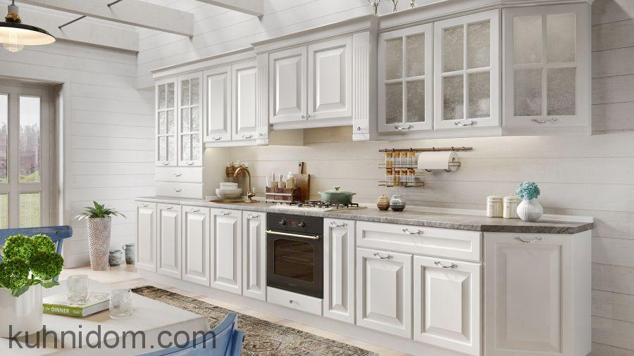 Кухня Olimp (Олимп) белая