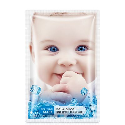BI suitang Baby Muscle Ice Film Cool Icy Day Silk Moisturizing Mask filling Factory Оптовая торговля