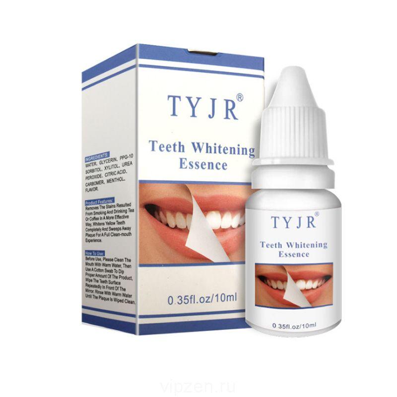 TYJR зубная жидкость для ухода за зубами удаление желтых и дымчатых зубов 10 мл