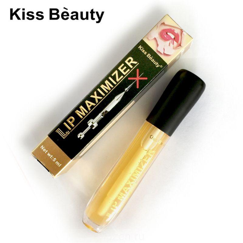 kissbeauty прозрачное масло для губ увлажняющее увлажняющее средство для губ lip plump массажное масло для губ